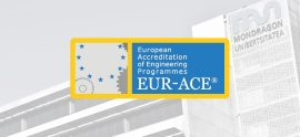 Certified by EUR-ACE for the Industrial Organisation Engineering degree