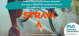 Get credits through Strava