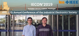 Representation of the Electricity research group at IECON 2019