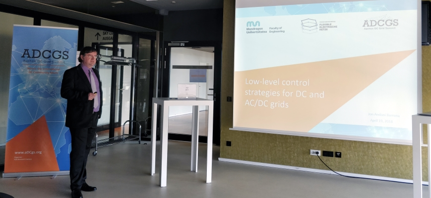 Mondragon Unibertsitatea's research into DC and AC/DC network control techniques presented in Germany