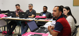A group of 14 Brazilian instructors will study cooperative education in the Faculty of Humanities and Education Sciences