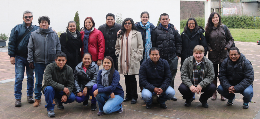 16 people from Latin America join the Social and Economic Management of Solidarity Economics program