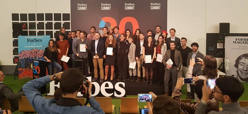 Three leinners recognized in the Forbes list of the 30 most talented young people in Spain