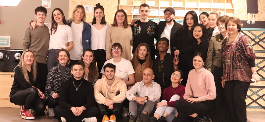 "Arranca el proyecto ""Future for Fashion"" con la participación de leinners (Mondragon Unibertsitatea) y alumnado de la ""University of the Arts London"""