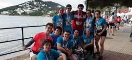 The students of Biteri participated in Ibiza Marathon