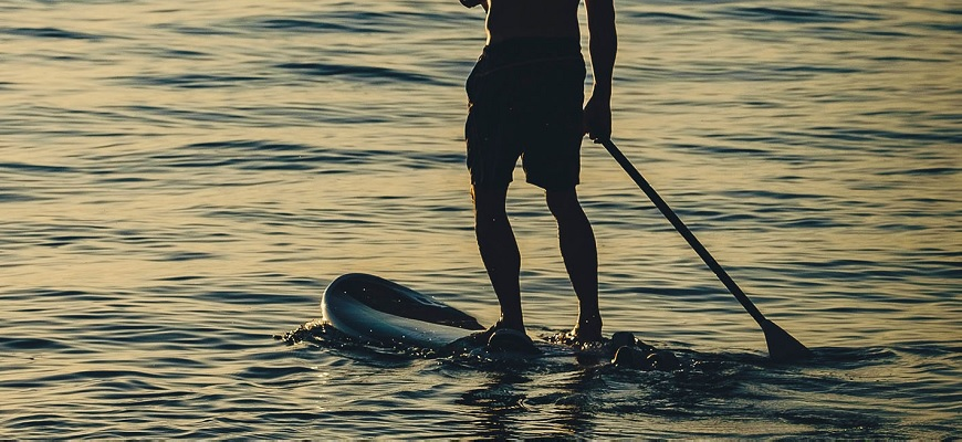 Paddle surf course