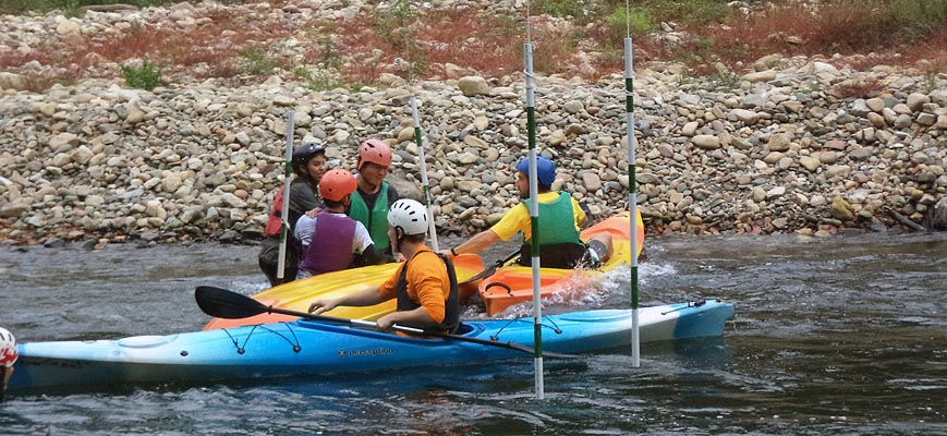 Canoeing school